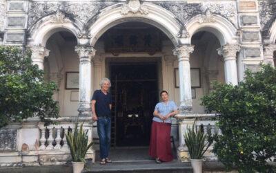 Myriam et Dominique VILLIERS, installés à Soudorgues depuis 2019
